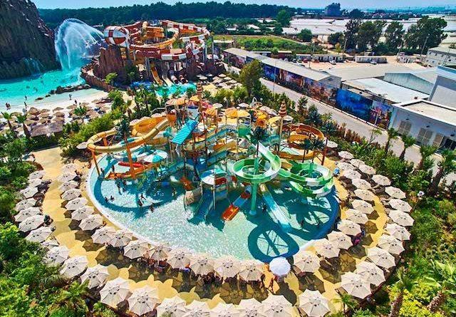 Suurte veeparkidega hotellid Türgis!